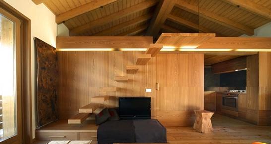 意大利木质情节公寓设计