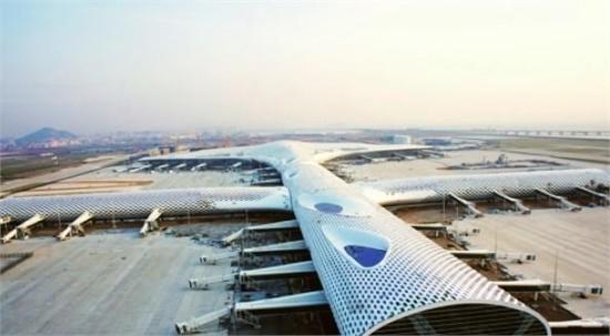 深圳宝安机场即将完成T3航站楼扩建