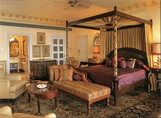 印度乌代浦尔泰姬湖皇宫酒店设计_美国室内设计中文网