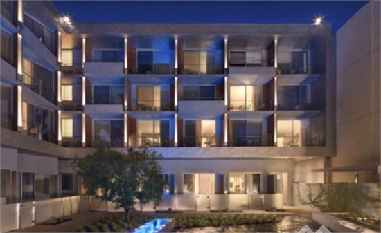 美国:海滨环保酒店设计
