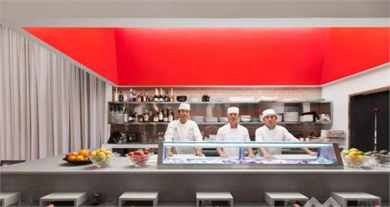 美国:yojisan寿司餐厅设计