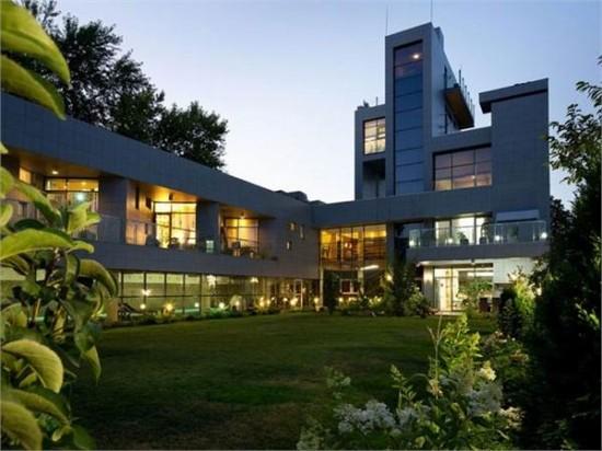乌克兰住宅设计_美国室内设计中文网