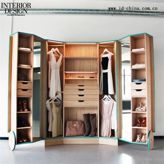 设计图分享 最实用的衣柜设计图  超实用的衣柜内部结构设计图,打柜子