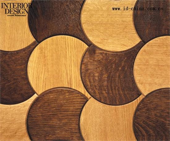 说起硬木地板,粗糙的木板或是特色的人字斜纹图