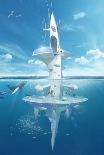 垂直海洋摩天大楼概念设计