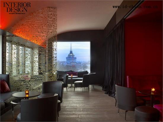 圣彼得堡w酒店_美国室内设计中文网