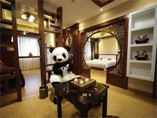 全球首家熊猫主题酒店设计