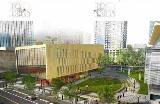 "nbbj为亚马逊公司总部设计""生态穹顶"""