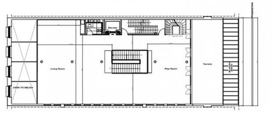 三层楼房设计图澡堂