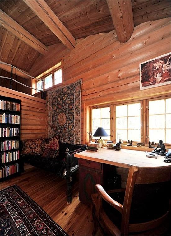 挪威木制小屋_美国室内设计中文网