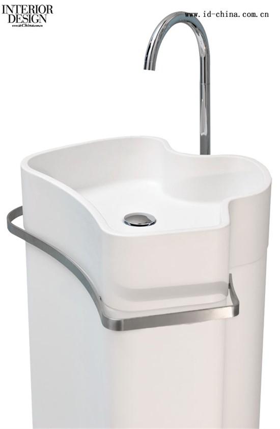水池墙排式马桶