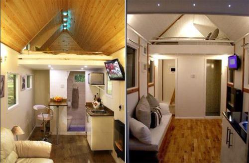 英国建筑师打造花园棚式迷你小木屋受追捧_美国室内