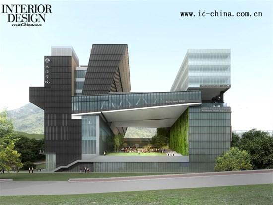 珠海学院新校舍_美国室内设计中文网