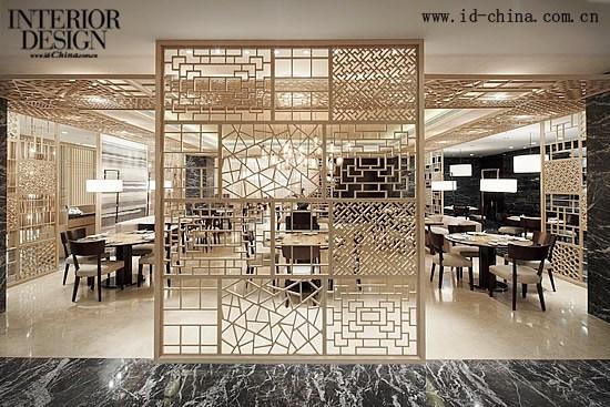 闲适中国风——海天阁餐厅_美国室内设计中文网