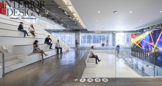 高科技办公印象_美国室内设计中文网