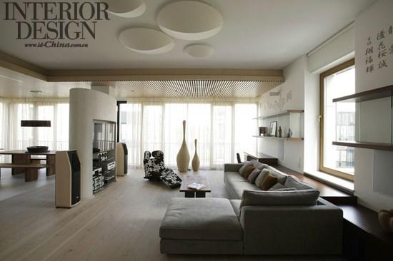 风韵依旧:圣彼得堡亚洲风公寓_美国室内设计中文网