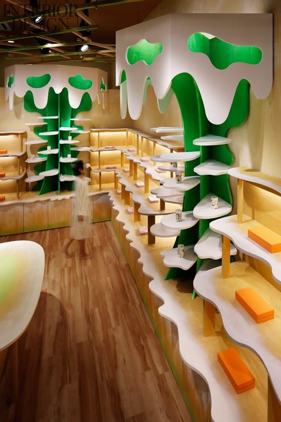 牛奶书架 幼儿园阅览室书架设计