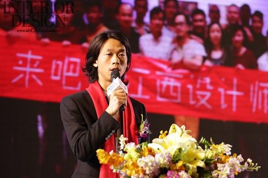 """他表示:""""「江西设计•深圳」的诞生,不仅是一股力量,更是一种精神"""