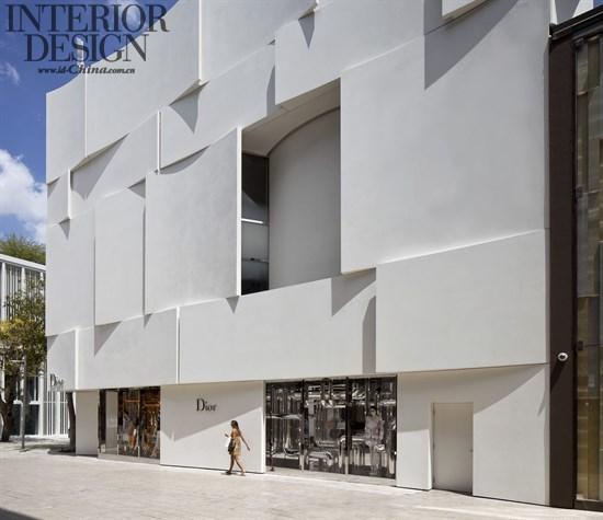 首页 设计案例 零售空间 03飘逸的裙摆:美国迈阿密迪奥旗舰店