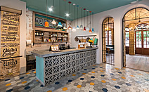色彩律动:哥伦比亚La Principal餐厅