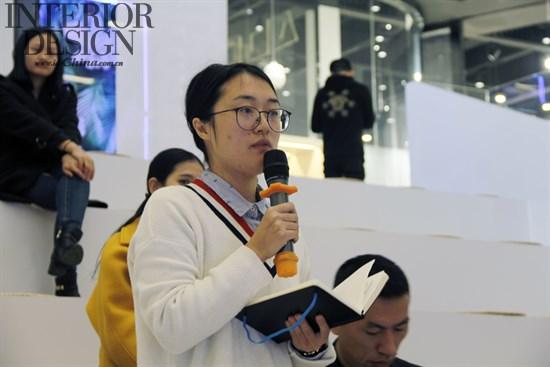 当美国室内设计中文版记者在问到葛千涛老师与梓晴
