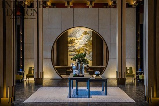 首页 设计案例 酒店设计 03郑忠新作|杭州泛海钓鱼台酒店