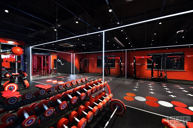 拾集建筑 / r fitness健身工作室