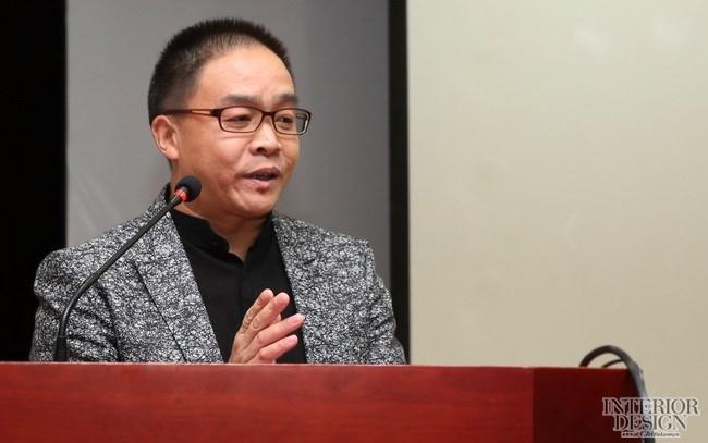 深圳市室内设计师协会执行会长赵庆祥致辞