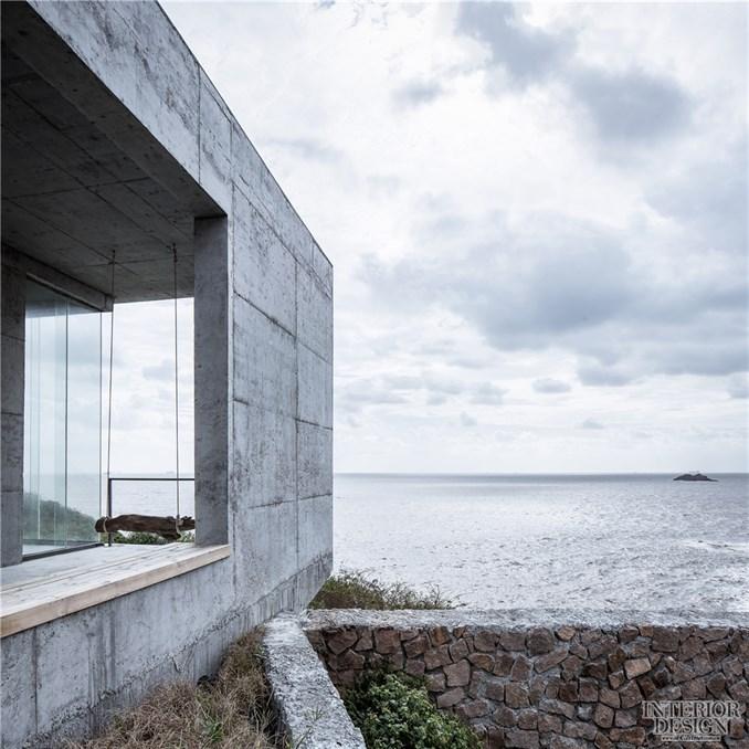 △风雨廊的大景窗@章勇-空间进化 漂亮的房子 舟山站 坐拥270 海景的