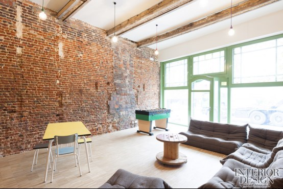 比利时建筑公司a154 / 根特青年旅社_美国室内设计网