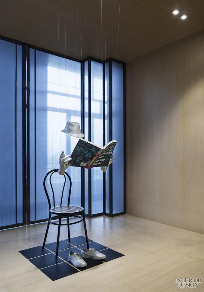 gnd设计集团 / 灵动的当代艺术装置与地产展示区的人文之光
