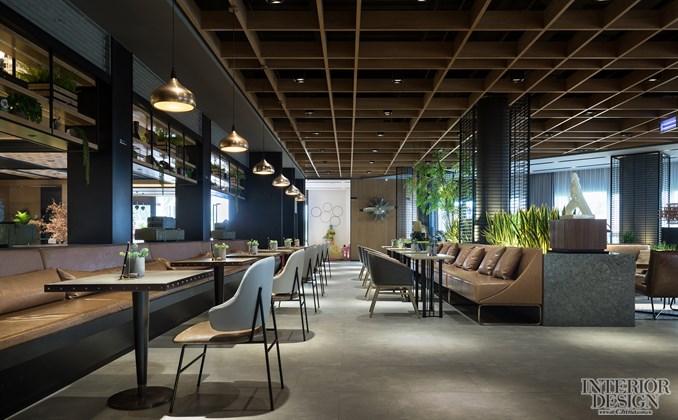 首页 设计案例 商业空间 03上海乐尚设计 / 西安保利中央公园售楼处
